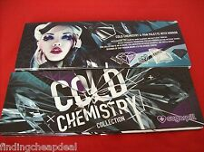 SUGARPILL COSMETIC PRESSED EYESHADOW COLD CHEMISTRY 4-PAN PALETTE+MIRROR SOLDOUT