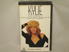 KYLIE MINOGUE -THE VIDEOS 2 - RARE AUSSIE VHS VIDEO