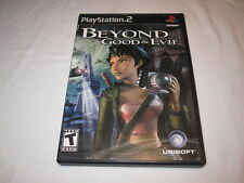 Beyond Good & Evil (Playstation PS2) Black Label Game Complete Excellent!