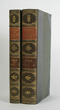 Thomas Bewick: A History of British Birds. 2 volumes 1797 and 1804 1st Editions