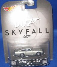 MATTEL HOT WHEELS HOLLYWOOD MOVIE & TV SHOWS COLLECTIBLES 007 SKYFALL, NEW