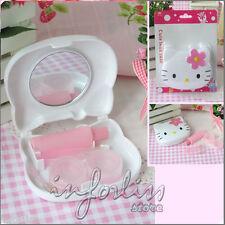 Neceser para lentillas de Hello Kitty con espejo Blanco - REF.120067