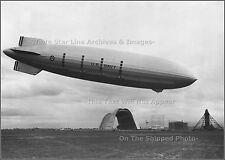 Photo: Airship USS Macon Landing At Moffett Field, Santa Clara County CA, 1933