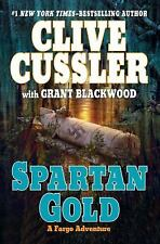 A Fargo Adventure: Spartan Gold by Grant Blackwood and Clive Cussler 2009 HB NEW
