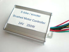 24V 250W Brushed Controller For E-bike & Scooter