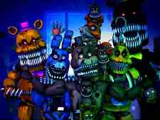 POSTER FIVE NIGHTS AT FREDDY'S 2 3 4 FNAF FAZBEAR HORROR GAME VIDEOGAME GIOCO 4