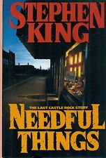 NEEDFUL THINGS the Last Castle Rock Story by Stephen King (1991) Viking HC