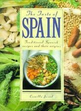 The Taste of Spain: Traditional Spanish Recipes and Their Origins-ExLibrary