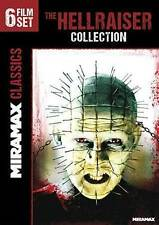 The Hellraiser Collection: 6 Film Set (DVD, 2014, 2-Discs Like new! Ships fast!