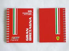 FERRARI brochure personnal Team book F1 2010 grand prix ANGLETERRE formule 1