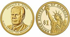 2016-S GERALD R. FORD Proof Presidential Dollar Coin