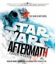 Star Wars The Aftermath Trilogy: Aftermath Bk. 1 by Chuck Wendig (2015, CD,...