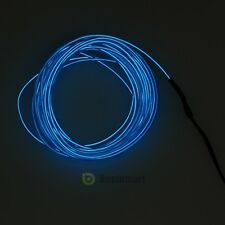 3ft Neon LED Light Glow EL Wire String Strip Rope Tube Car Party + Controller