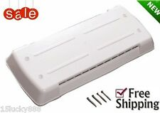 Rv Refrigerator Roof Vent Lid Cover 65528 Trailer Replacement Polar White