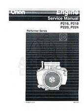 ONAN P220 P224 P-220 P-224 Performer Series Engine Service Shop Repair Manual