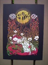 EARTH Stoner Metal MALLEUS Milano Italy 2008 Rock Concert mini Poster