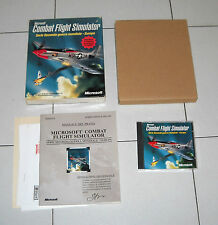 Gioco Pc cd COMBAT FLIGHT SIMULATOR Serie Seconda Guerra Mondiale EUROPA ITA