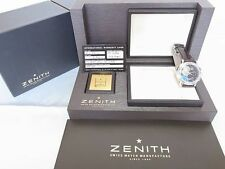 Zenith El Primero Chronomaster T Open Chronograph Watch 03.0240.4021 Excellent++