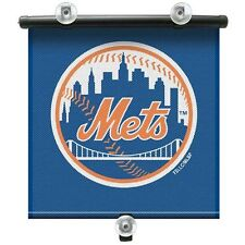 New York Mets Retractable Car Window Shade With Suction Cups