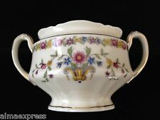 Epiag Czechoslovakia China EPI 343 Urn Floral Band Gold Ivory SUGAR BOWL, NO LID