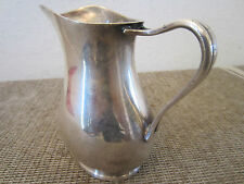 U.S.N, REED & BARTON ,SILVER SOLDERED PITCHER
