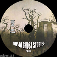 TOP 40 CLASSIC GHOST STORIES 4 AUDIOBOOKS ON 1 MP3 CD