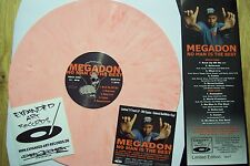 MEGADON No Man is the Best Red-White Vinyl Large Pro Sadat X Smif-N-Wessun Ruste