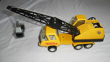 VINTAGE TONKA MOBILE CRANE : YELLOW