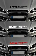 For BMW -  BMW PERFORMANCE BONNET CHECKS  -  CAR DECAL STICKER  -  600mm long