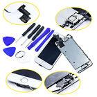 Für iPhone 5S Retina Komplettset LCD Display Touchscreen Weiß mit Front Cam