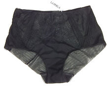 LA PERLA PTYNRDONNA ANGEL LACE BLACK BRIEFS sz S 2(IT) NEW$184 AUTHENTIC