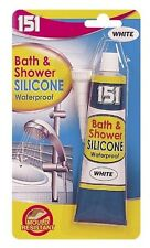 Bath And Shower Waterproof White Silicone (10064)