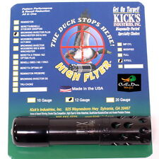 KICKS HIGH FLYER PORTED CHOKE TUBE EXTRA FULL 12GA BROWNING INVECTOR PLUS
