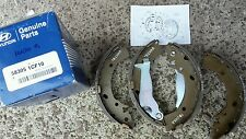 HYUNDAI GETZ BRAKE SHOES REAR SHOE SET NON ABS GENUINE 583051CF10
