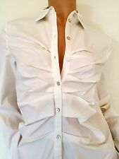 CHRISTIAN DIOR Ruched Blouse (Size FR36) (retail £550)
