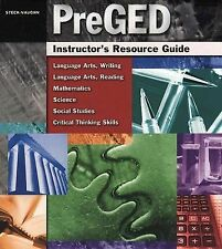 Pre-GED: Instructor's Resource Guide, STECK-VAUGHN, 0739880624, Book, Good