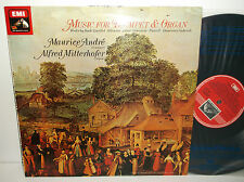 ASD 3318 Bach Purcell Music For Trumpet & Organ Maurice Andre & Alf Mitterhofer