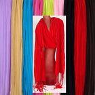 Super leichter XXL Sommerschal Tuch Halstuch Tücher Schal s einfarbig mehrfarbig