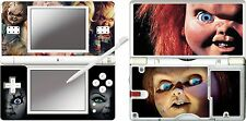 nintendo DS Lite - CHUCKIE - 4 Piece Decal / Sticker Skin vinyl