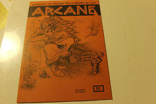 Magasine magie ARCANE 51 publication de l amicale robert HOUDIN de LYON