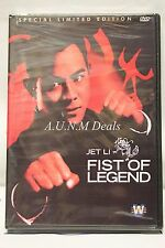 fist of legend jet li ntsc import dvd English subtitle
