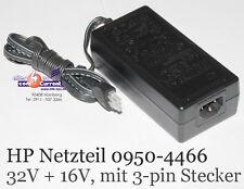 HP NETZTEIL 0950-4466 32V 16V OFFICEJET PSC 2410 2510 2600 2610 5505 5510 5850