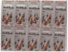 60x Hearing Aids Batteries Size 312 Zinc Air Battery iCellTech Korea Exp./ 2020