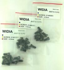 LOT OF 30 TORX SCREWS WIDIA M4.5X12mm SCREW FOR INDEXABLE INSERT