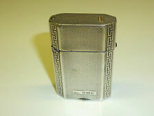 COHEN & CHARLES JEWELER ART DECO LIGHTER 925ER STERLING SILVER 1927 LONDON RARE