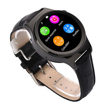 NO.1 S3 Bluetooth Smart Watch Phone Camera Heart Rate SIM For Android IOS Black