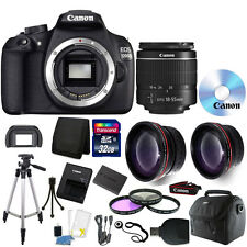 Canon EOS Rebel 1200D/T5 DSLR Camera + 18-55mm Lens + 32GB Accessory Kit