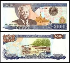 Laos 2000 KIP 2003 P 33b UNC