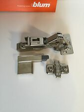 10 PCS of Blum 170 Degree Blumotion Hinges Soft Close 71T6550 with clip 173L8100
