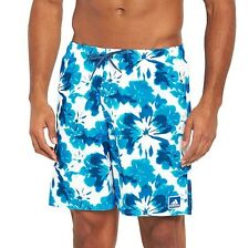 "Adidas X-Small Men's Blue Floral Swim / Beach Shorts BNWT XS 27"" 28"" 29"" RRP £32"